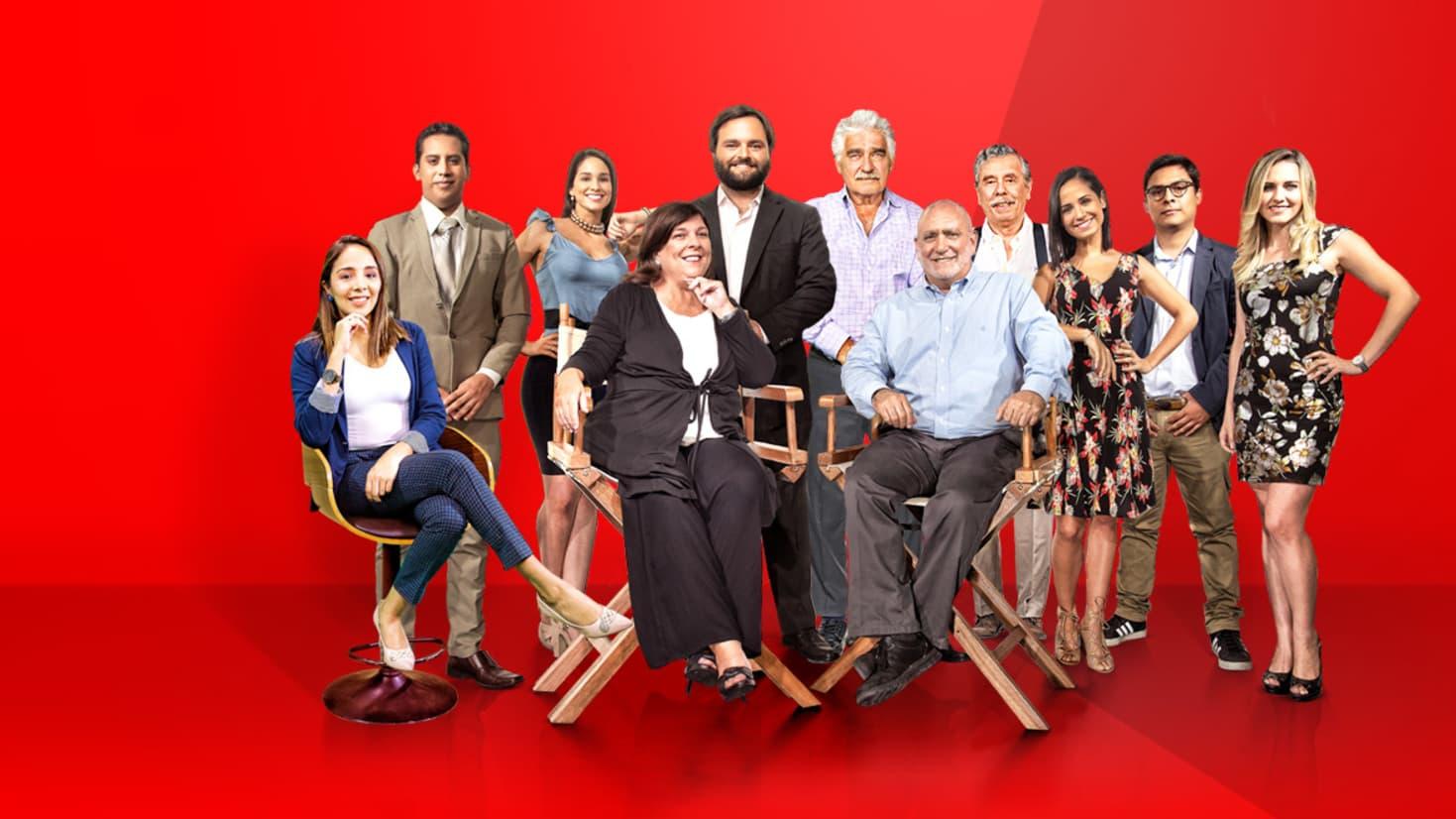 RTV televisión en tus manos; es un nuevo canal digital vía streaming con programas de potente contenido periodístico que llevan el ADN del diario La República.