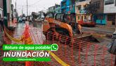 Reportero Ciudadano: Caos en Carmen de la Legua por calles inundadas de agua