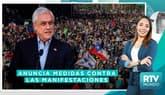 Crisis en Chile: Sebastián Piñera anuncia un paquete de medidas contra las manifestaciones