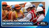 Modifican normas de inspección laboral