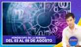 Horóscopo de la semana: Del 03 al 09 de agosto | Señales con Jhan Sandoval