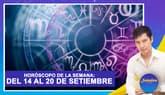 Horóscopo de la semana: Del 14 al 20 de setiembre   Señales con Jhan Sandoval