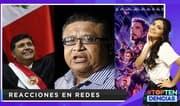 Top tendencias: Reacciones en las redes ante las noticias de Alan García y la expectativa de Avengers