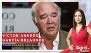 Entrevista a Víctor Andrés García Belaúnde en Sigrid.PE