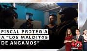 "Fiscal protegía a ""Los Malditos de Angamos"" - 10 Minutos Edición Matinal"