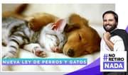 No Retiro Nada: Nueva Ley de perros y gatos