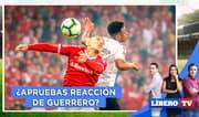 Paolo Guerrero ¿apruebas la reacción del jugador en el Flamengo vs Inter? - Líbero TV