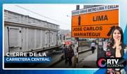 ¿Cómo le afecta a los ciudadanos el cierre de la carretera central?