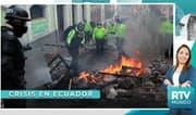 RTV Mundo: Crisis en Ecuador: ¿Qué debería hacer el presidente Moreno?