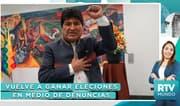 RTV Mundo: ¿Se debe reconocer a Evo Morales como presidente de Bolivia?