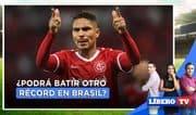 ¿Paolo Guerrero podrá batir otro récord en Brasil? - Líbero Tv