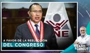 """AAR: """"La reelección es una decisión legítima de la gente"""""""