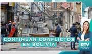 Bolivia: Continúan conflictos pese a renuncia de Evo Morales