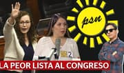 Solidaridad Nacional: la peor lista de candidatos al Congreso