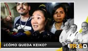 Tres D: ¿Cómo queda Keiko?