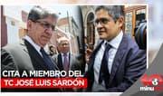 Fiscal Domingo Pérez cita a miembro del TC José Luis Sardón - 10 minutos Edición Matinal