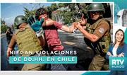 Chile: Carabineros niegan haber violado derechos humanos durante protestas