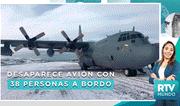 Chile: Intenso operativo de búsqueda de avión desaparecido