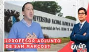 Fake News: ¿Mijael Garrido Lecca profesor adjunto de San Marcos?