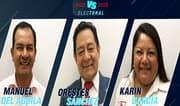 Elecciones 2020: Manuel del Águila vs. Orestes Sánchez vs. Karin García