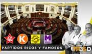 Tres D: Partidos ricos y famosos