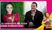 'La Chabelita' se arrepiente de haber estado con Christian Domínguez - Populovers