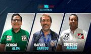 Elecciones 2020: Sergio Alba vs. Rafael Santos vs. Gustavo Massa   Versus Electoral