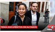 Keiko Fujimori tenía documentos incautados por la fiscalía a PPK - 10 minutos Edición Matinal
