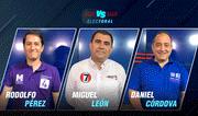 Elecciones 2020: Rodolfo Pérez vs. Miguel León vs. Daniel Cordova | Versus Electoral