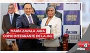 María Zavala jura como integrante de la JNJ - 10 minutos Edición Tarde