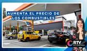 Aumenta el precio de los combustibles al iniciar el 2020