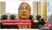 José Luis Lecaros registra llamadas con César Hinostroza - 10 minutos Edición Tarde
