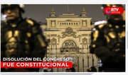 TC declara infundada demanda competencial - RTV Noticias