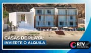 Casas de playa: Invierte o alquila de forma segura