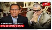 TC: Cierre del Congreso fue constitucional - RTV Noticias
