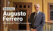 """Augusto Ferrero Costa: """"No hay denegación fáctica de la confianza y el pedido debe ser debatido y votado"""""""