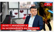 Guzmán escapa de incendio en departamento de Miraflores - RTV Noticias