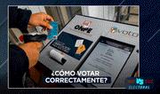 Elecciones 2020: Conoce cómo votar correctamente
