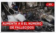 Cifra de fallecidos se elevó a 8 tras explosión en VES - RTV Noticias
