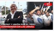 Elecciones 2020: Frepap y Unión por el Perú sorprenden en las urnas - RTV Noticias
