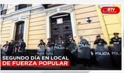 Fiscal Pérez allanó por segundo día local de Fuerza Popular - RTV Noticias