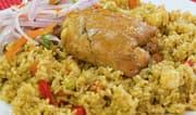 Aprende a preparar arroz con pollo peruano