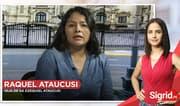 """Raquel Ataucusi: """"No me estoy aprovechando del ingreso del Frepap (al Congreso)"""""""