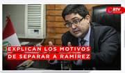 """Procurador general: """"Decisión de separar a Ramírez se tomó con el objetivo de fortalecer el sistema"""" - RTV Noticias"""