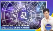 Horóscopo de la semana: Del 2 al 6 de marzo | Señales con Jhan Sandoval