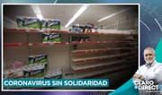"""AAR: """"Paren de comprar papel higiénico porque no es diarrea, es una gripe"""""""