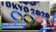 Tokio 2020: ¿Por qué demoró tanto la suspensión de los Juegos Olímpicos? - Líbero TV