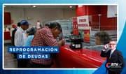 Coronavirus: Reprogramación de deudas