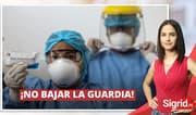 """Sigrid Bazán: """"No se avisora en qué momento descenderá la curva de contagios"""""""