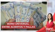 """Guillermo Flores: """"La entrega del Bono Universal pudo hacerse mejor"""""""